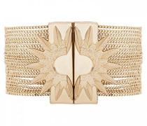 Damen-Manschetten Armbänder Vergoldet E18MFOREGO