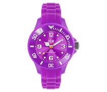 - ICE forever Purple - Lila Mädchenuhr mit Silikonarmband - 000797 (Extra Small)
