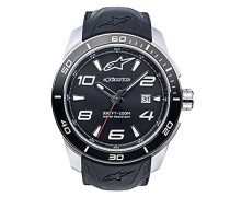 Analog Klassisch Quarz Uhr mit Silikon Armband 1036-96007