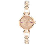 Analog Quarz Uhr mit Edelstahl Armband R4253106501