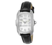 5168 Lupah Uhr Edelstahl Quarz weißen Zifferblat