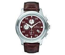 1633.9536 men's Armbanduhr chronograph Quarz Leder braun 1633.9536