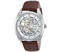 Analog Automatik Uhr mit Leder Armband KC50064002