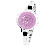 187D658 – Damen Uhr Analog Edelstahl Pink