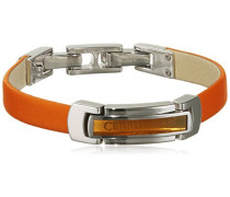 Armband 925 Sterling Silber rhodiniert Leder