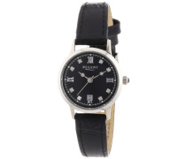 Damen-Armbanduhr XS Analog Quarz Leder 12111013