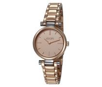 ! Armbanduhr XS Martha Analog Quarz Edelstahl JP101542004