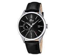Herren-Armbanduhr Analog Quarz Leder 18214/4