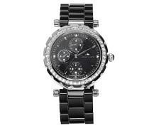 Armbanduhr Analog Quarz Premium Keramik Diamanten - STM15R2