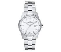 Unisex-Armbanduhr Analog Quarz Silber 7715.1133