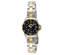 8941 Pro Diver Uhr Edelstahl Quarz schwarzen Zifferblat