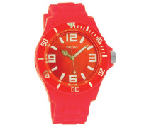 Armbanduhr Silicone Collection Analog Silikon pink C4282
