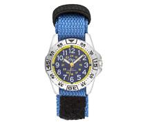 Unisex Kinder Analog Quarz Uhr mit Nylon Armband