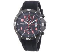 Herren-Armbanduhr XL Analog Quarz Silikon M3096/1