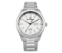Analog Quarz Uhr mit Edelstahl Armband WBS105SM