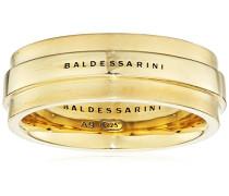 Ring 925 Silber gelb vergoldet 58 (18.5) - Y2135R/90/00/58