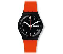 Unisex Analog Quarz Uhr mit Silikon Armband GB754