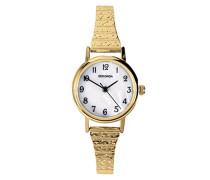 Armbanduhr Analog Edelstahl beschichtet gold 4677.27