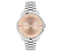 Analog Quarz Uhr mit Edelstahl Armband R4253102505