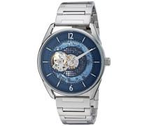 Analog Automatik Uhr mit Edelstahl Armband KC50205003