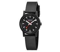 Datum klassisch Quarz Uhr mit Gummi Armband MS1.32120.RB
