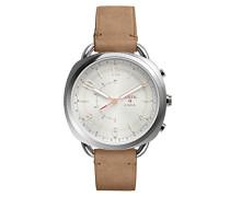 Hybrid Q Accomplice Smartwatch - Leder - Sand
