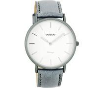 Damen Digital Quarz Uhr mit Leder Armband C7739
