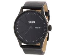 Herren-Armbanduhr Analog Leder A105001-00