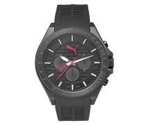 Armbanduhr PU- Forward black red Analog Quarz Kautschuk PU104021001
