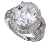 Damen Ring 925 Sterlingsilver mit Zirkonia
