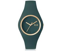 - ICE glam forest Urban chic - Grüne Damenuhr mit Silikonarmband - 001062 (Medium)