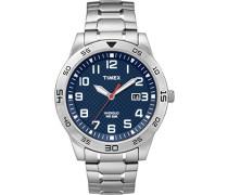 Herren-Armbanduhr Analog Quarz Leder TW2P61500