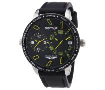 Armbanduhr XL 400 Analog Quarz Leder R3251119007