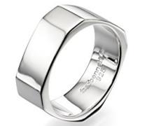 Manschettenknöpfe Sterling-Silber 925, achteckig