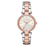 Analog Quarz Smart Watch Armbanduhr mit Edelstahl Armband KL5008