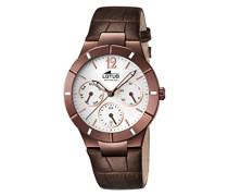Damen-Armbanduhr Analog Quarz Leder 15918/1