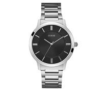 Analog Quarz Uhr mit Edelstahl Armband W0990G1