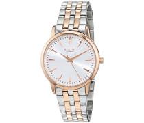 Analog Quarz Uhr mit Edelstahl Armband 12230628