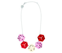 Halskette Lucky Dice Link der 47-52 cm