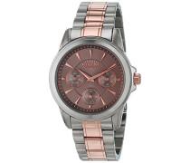 Analog Quarz Uhr mit Edelstahl Armband 12230670