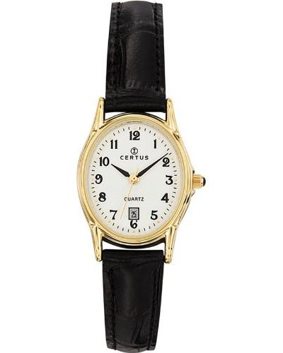 646544 Armbanduhr, Quarz, Analog, weißes Zifferblatt