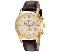 Armbanduhr 1209.9511 Chronograph Leder Braun 1209.9511