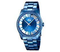 Damen-Armbanduhr Analog Quarz Edelstahl 18251/1