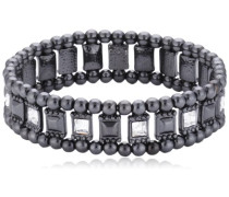 Jewelry Armband Messing Armband aus der Serie Classic hematite beschichtet