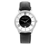 Damen-Armbanduhr Analog Quarz Leder DH07121BNR