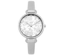 Datum klassisch Quarz Uhr mit PU Armband LP567
