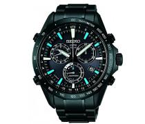 Armbanduhr Chronograph Quarz Edelstahl SSE013J1