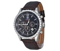 Herren-Armbanduhr Aerotec CD-AERO-QZ-LT-STST-BK