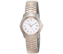 Datum klassisch Automatik Uhr mit Edelstahl Armband 1215926