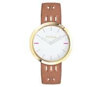 Analog Quarz Uhr mit Leder Armband R4251103519